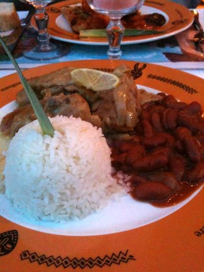 Mangue amère : restaurant sénégalais