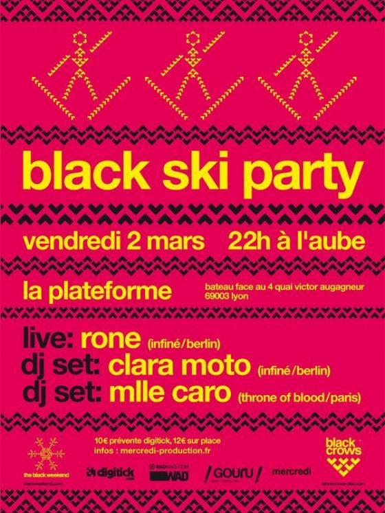 Black ski Party