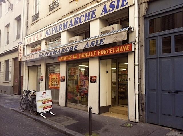 supermarche asie