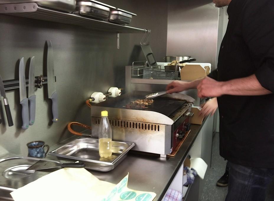 cuisine camionnette