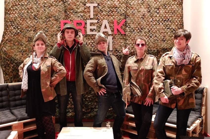 Team Break 3