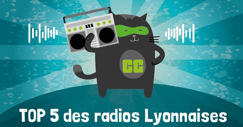 Top 5 des radios Lyonnaises