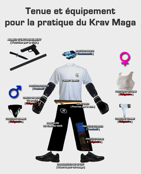 Tenue-Krav-Maga