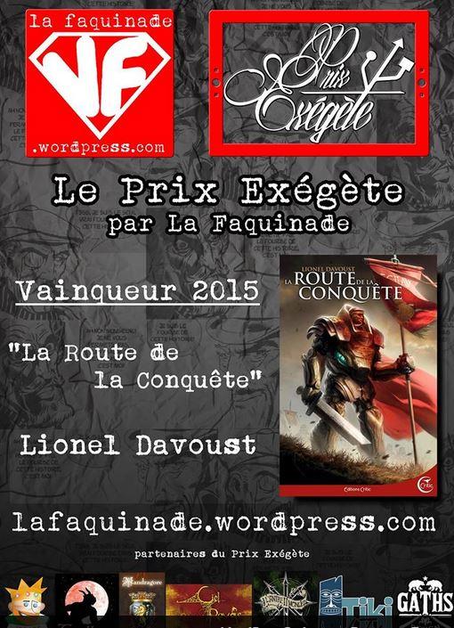 prix exegete 2015 La route de la conquête davoust