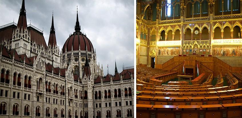 le Parlement Hongrois Budapest
