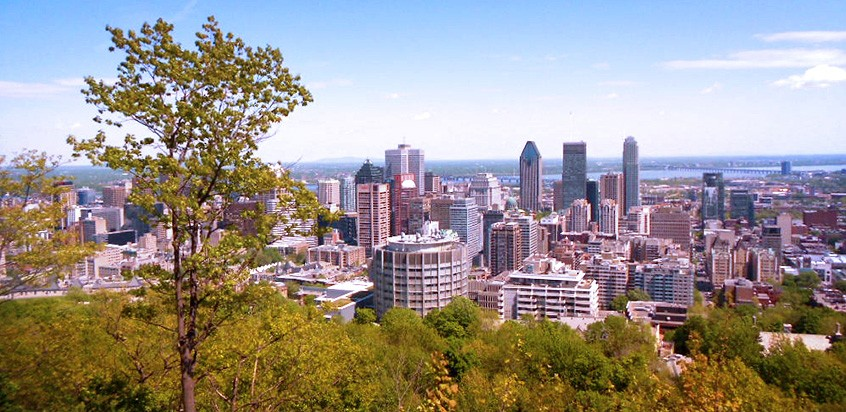 Montréal l'été