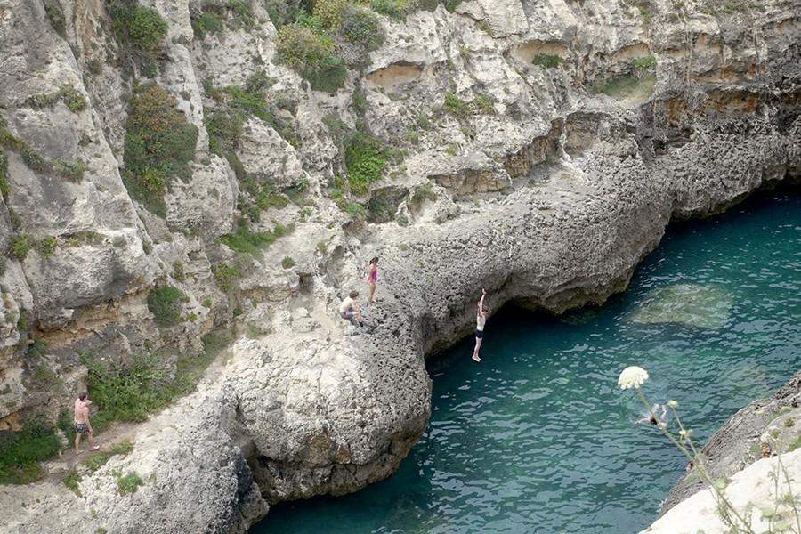 Baignade Gozo Malte
