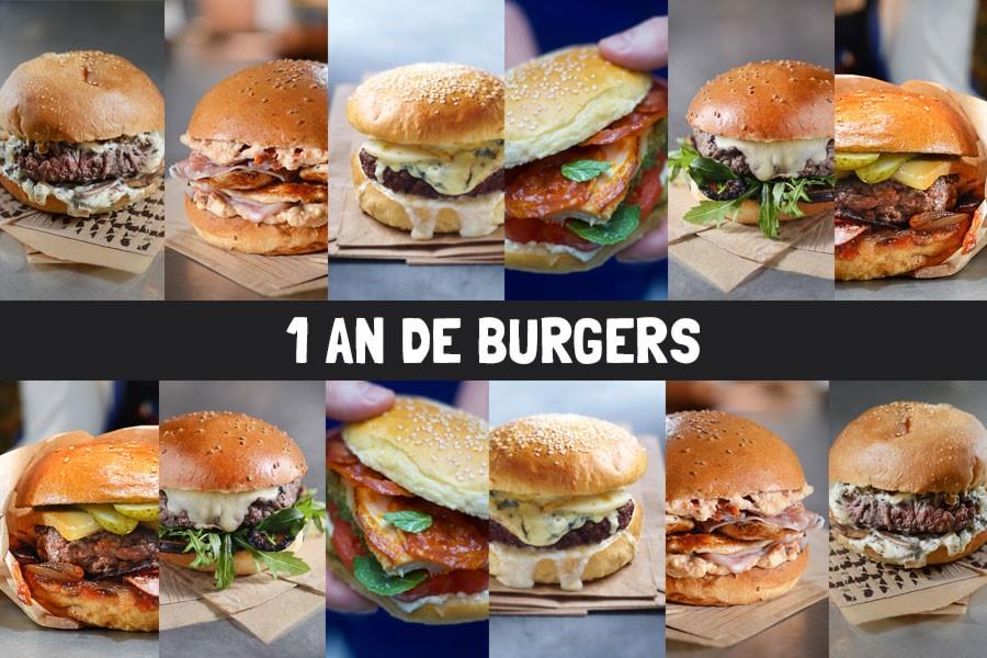 1 an de burger à gagner