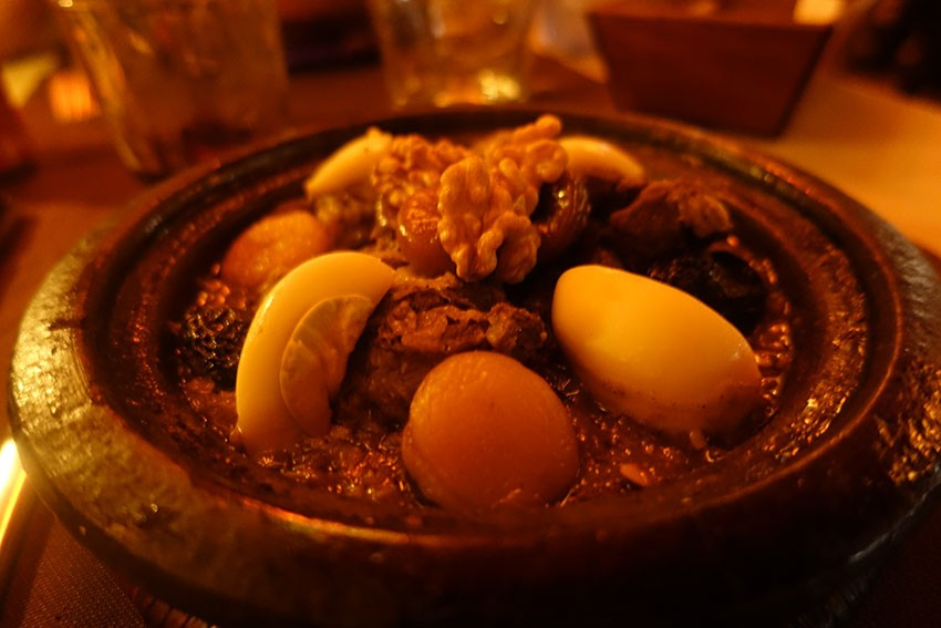 bon tajine à Essaouira