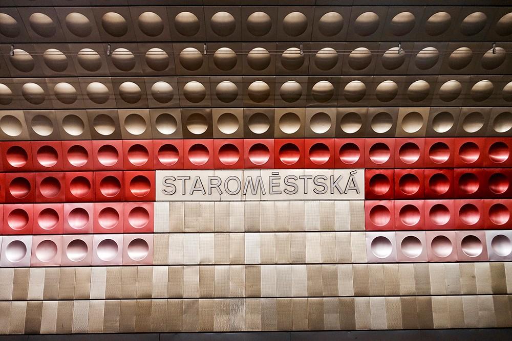 Métro Prague