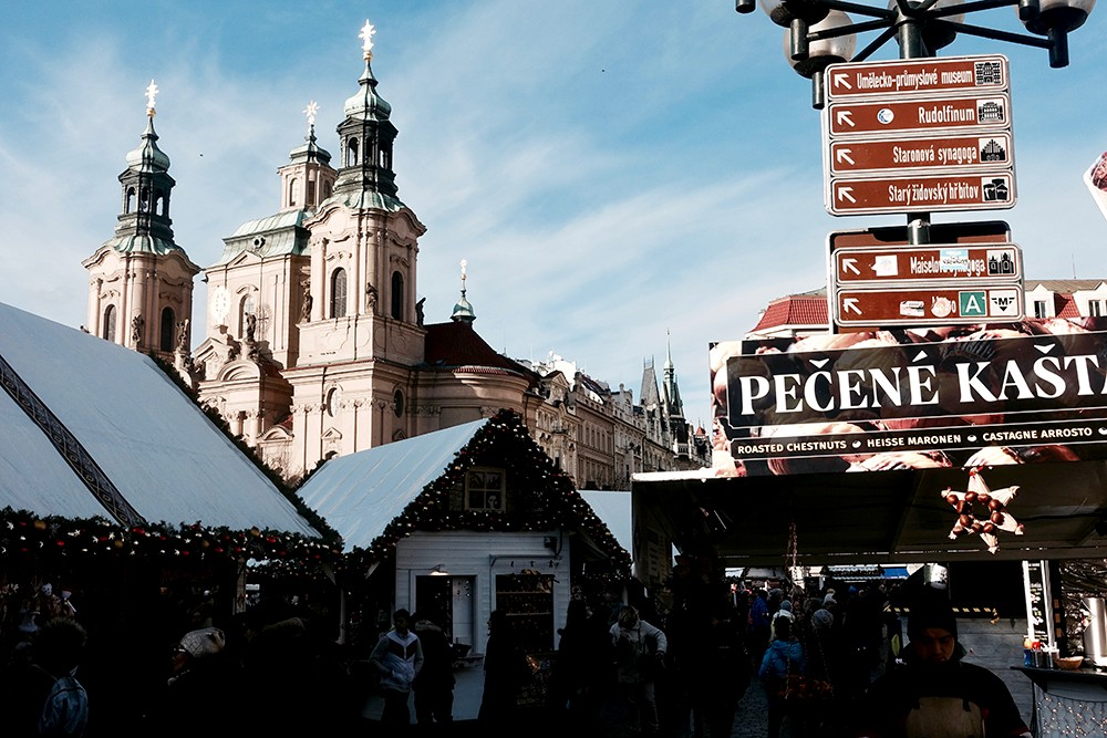 Se reperer dans Prague