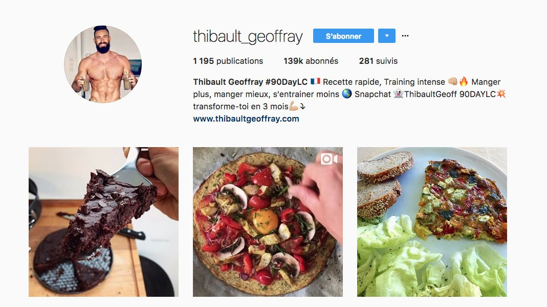 Instagram Fitness Lyon
