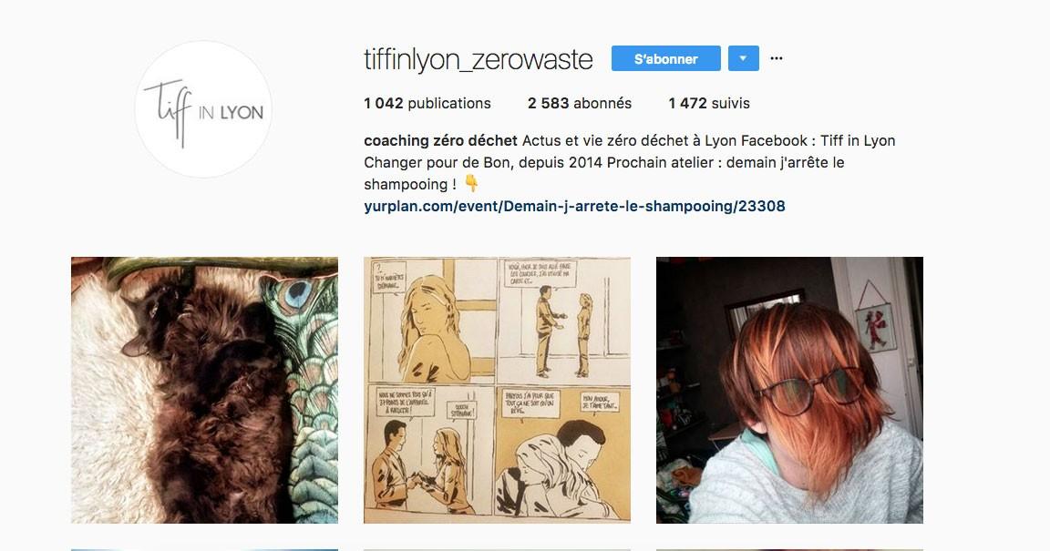 Instagram Zero déchet Lyon