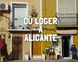 Où loger à Alicante