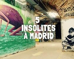 Insolites Madrid