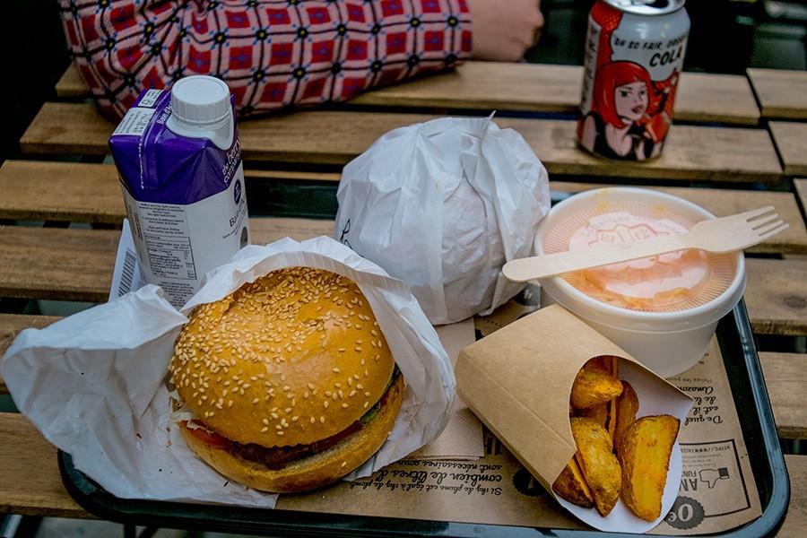 Burger Vegan à Lyon