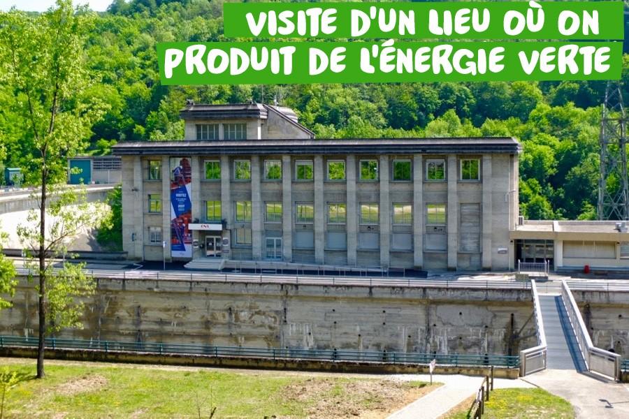 Visite barage près de Lyon