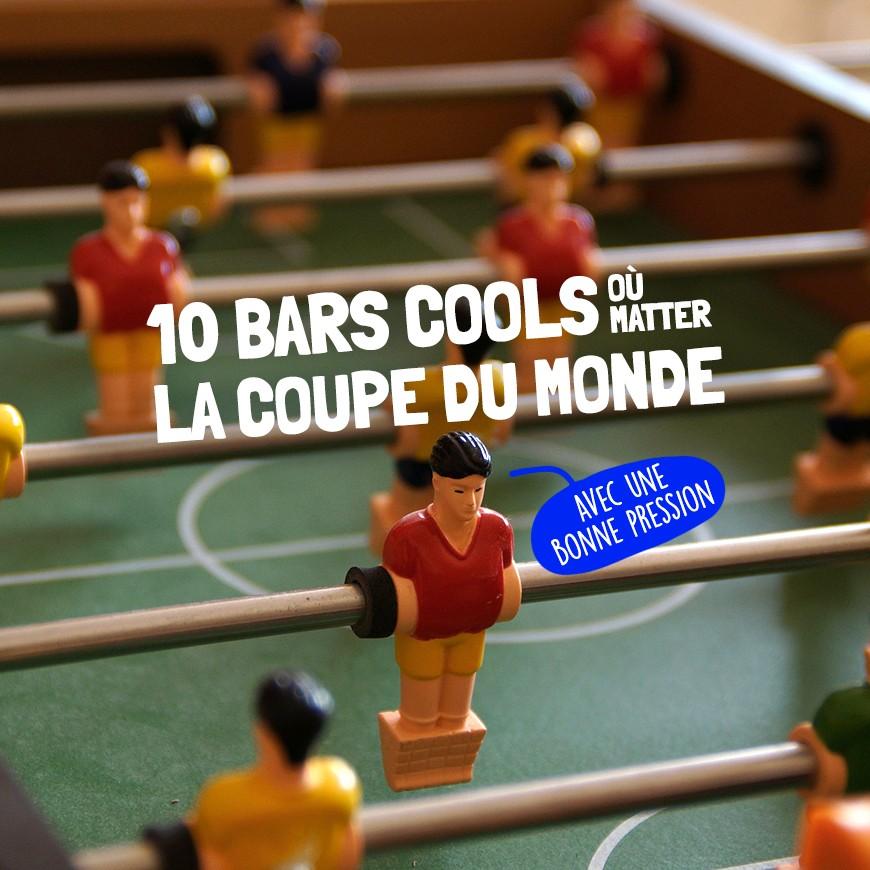 Bars coupe du monde 2018 lyon