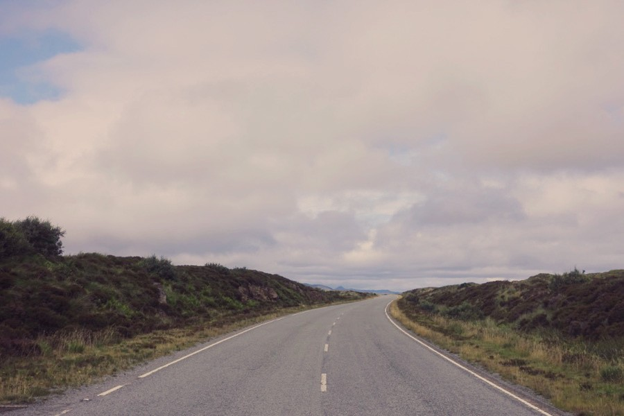 Carte Road trip en Ecosse