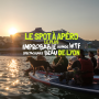 apéro couché de soleil Canoë Lyon CityCrunch
