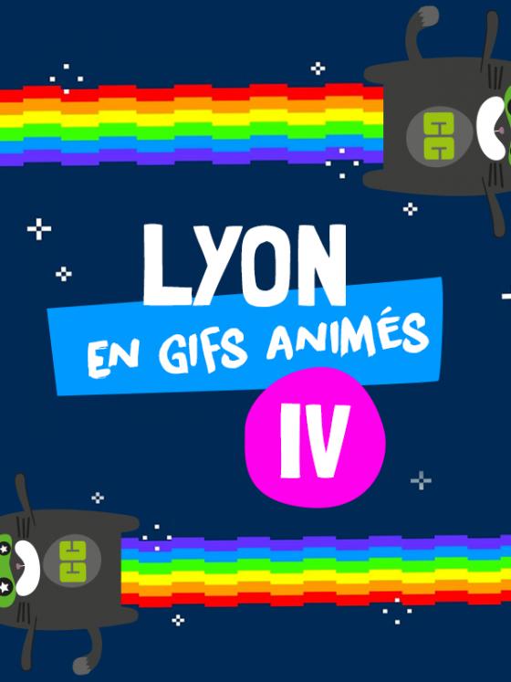 La vie à Lyon en GIF animés
