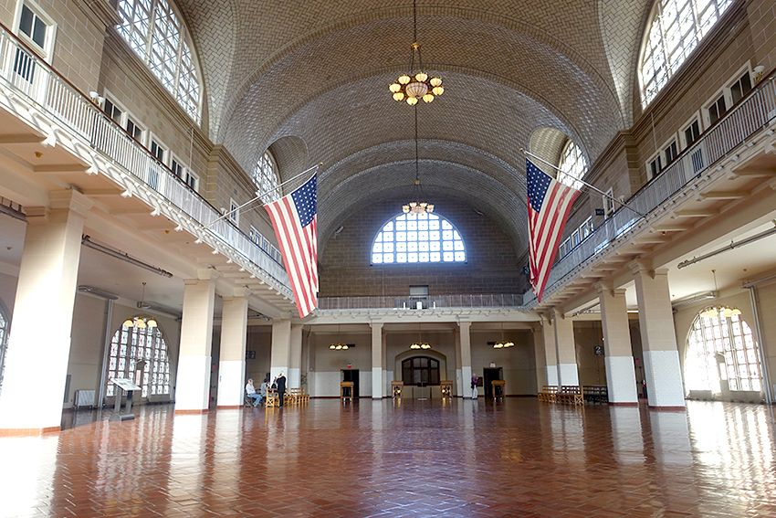 Ellis Island - Musée de l'immigration