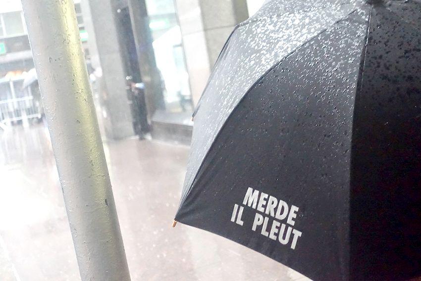 Pluie à New-York