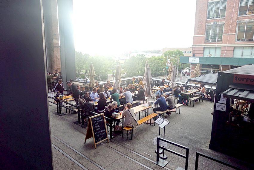Bar sur la High Line