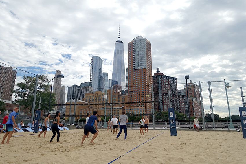 Beach Volley New-York