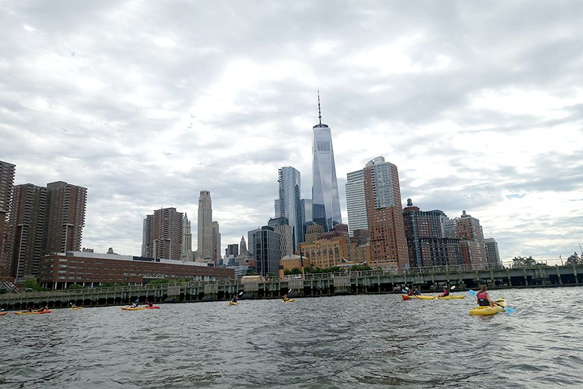 Kayak New-York