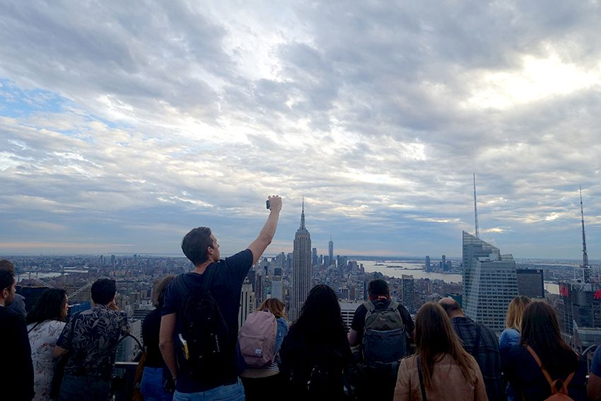 Top of the rock - Meilleure vue sur New-York