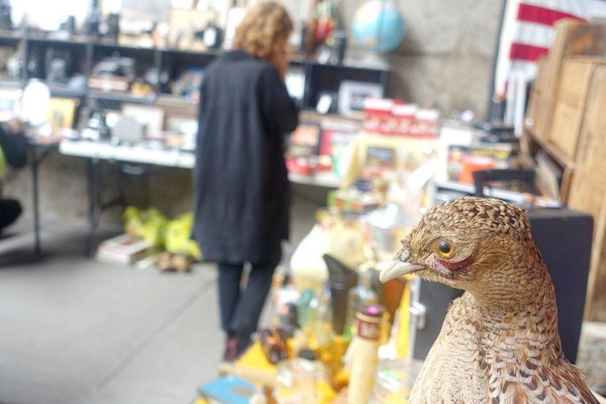 Quartier dumbo marché aux puces