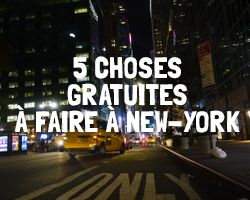 New-York Gratuit