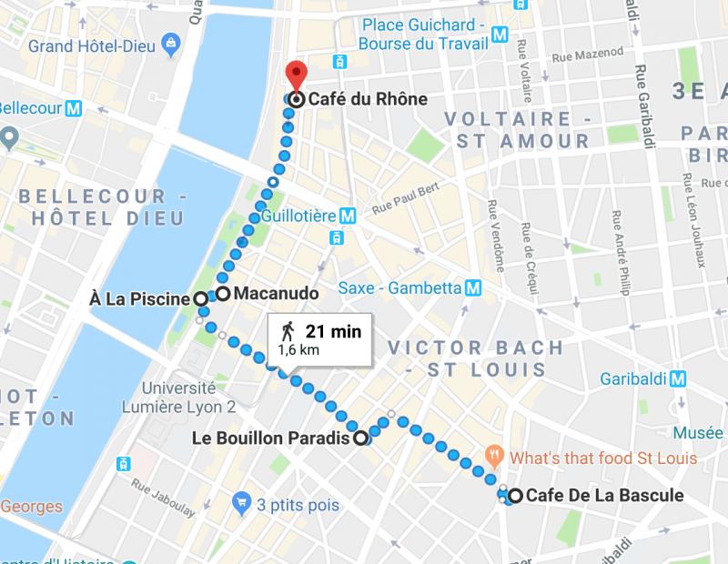 Itinéraire d'un dimanche