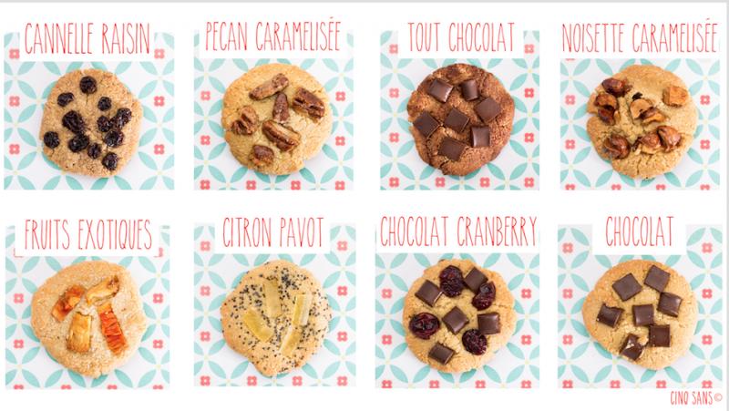 Cookies Cinq sans