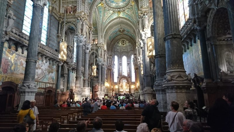 Basilique Notre-Dame de Fourvière intérieur