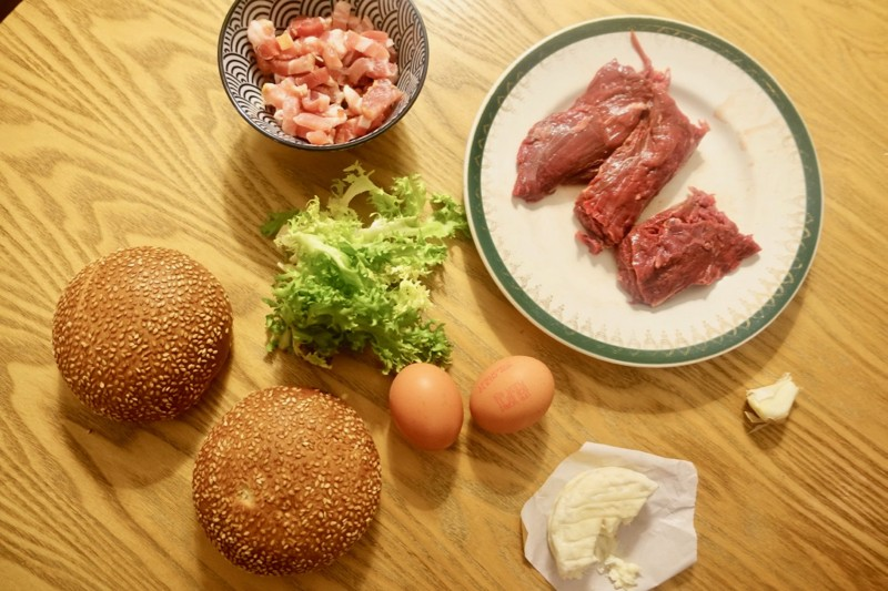Ingrédients Burger Lyon