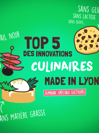 Top5 des innovations culinaires