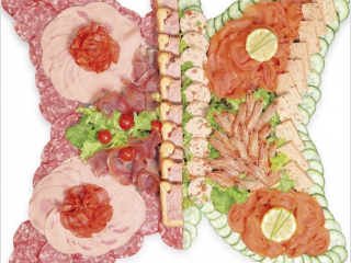 Buffet froid charcuterie Flunch