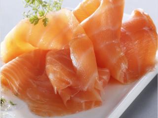 Buffet de la mer Flunch saumon
