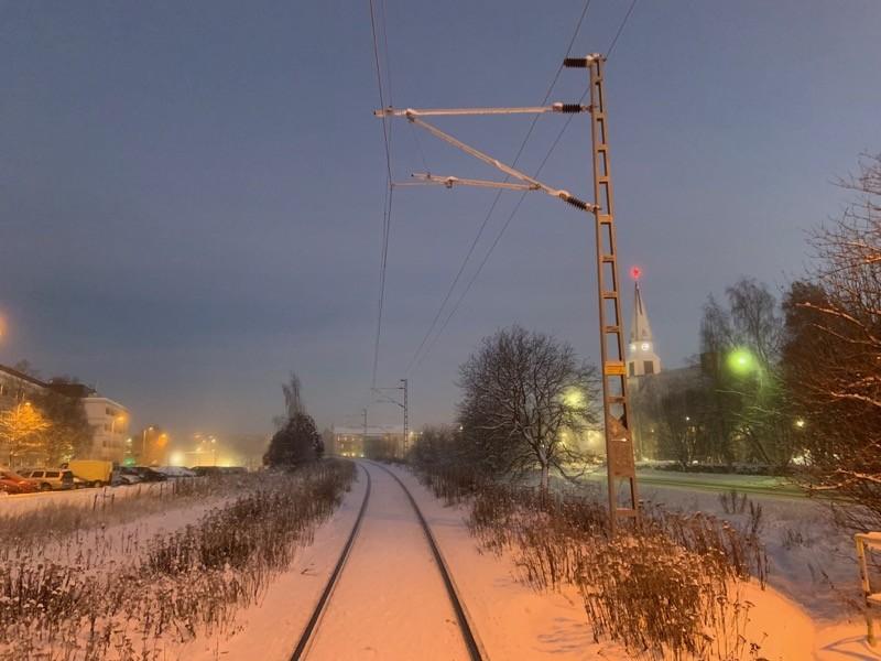 Train Rovaniemi