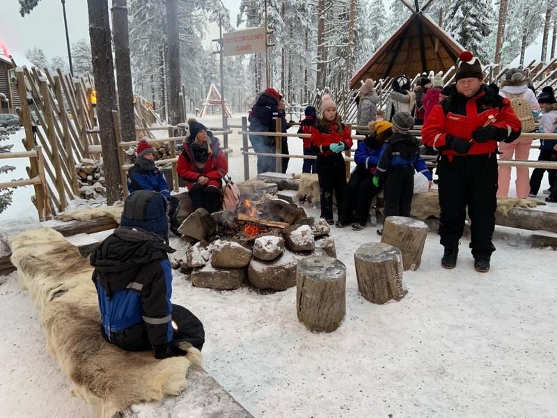 coin du feu Laponie