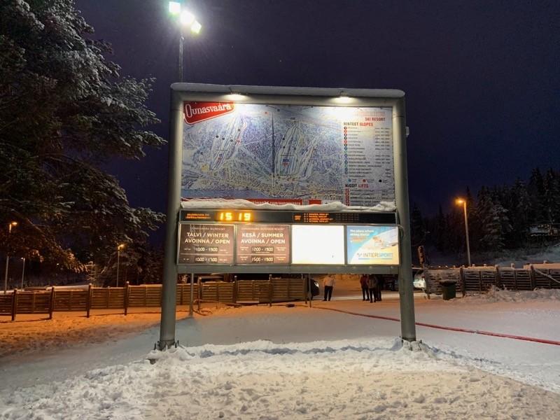 Station de Ski près de Rovaniemi