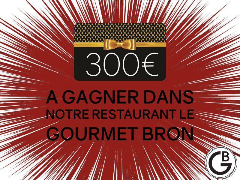 Jeu concours Gourmet Bron