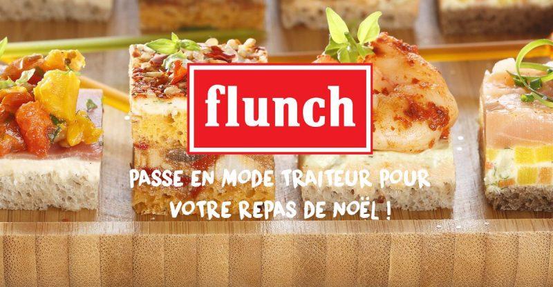 Flunch passe en mode traiteur pour votre repas de Noël !