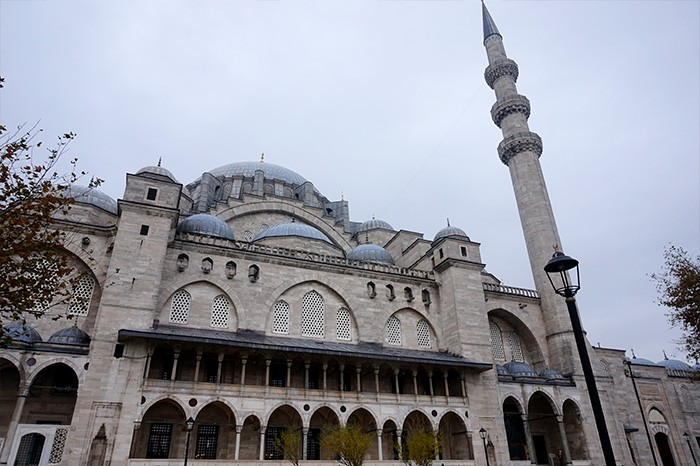 mosquee Suleymaniye city guide Istanbul