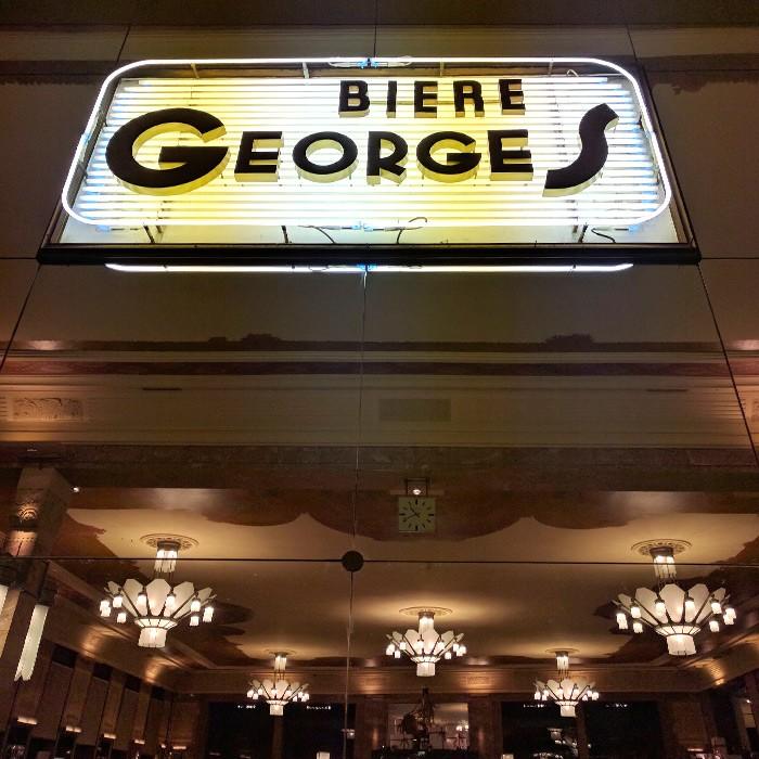 Brasserie George ouvert Dimanche soir Lyon Citycrunch