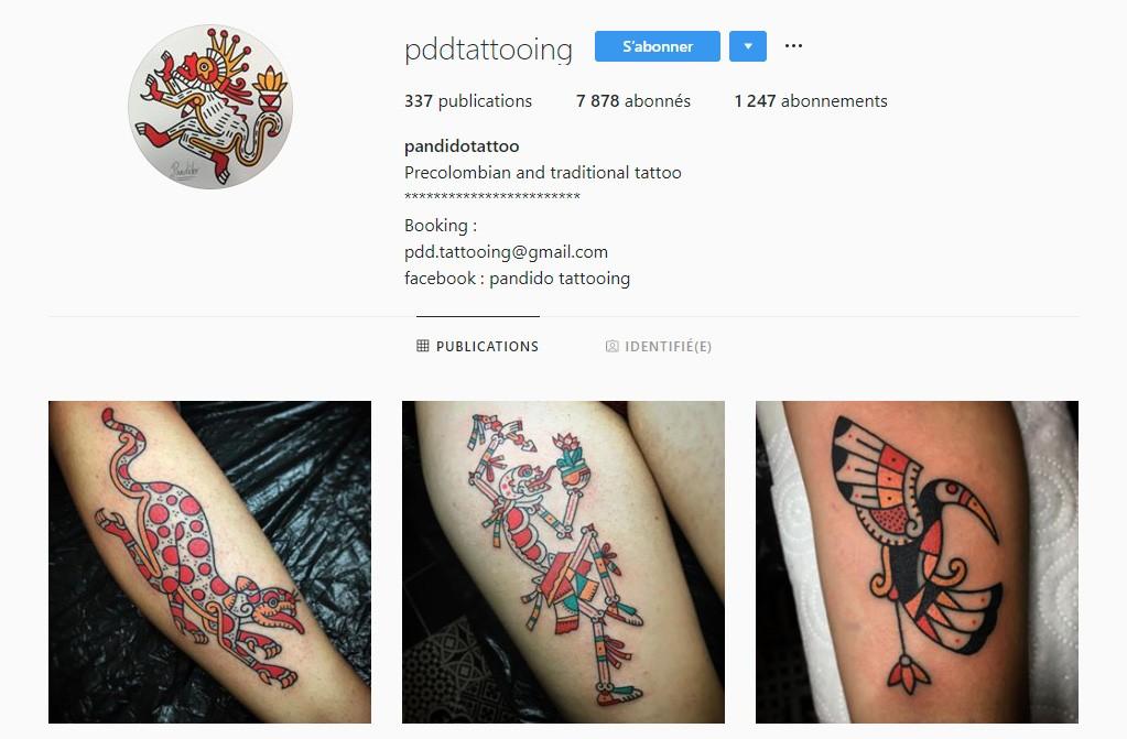 Pandido Tattooing tatoueur lyonnais CityCrunch