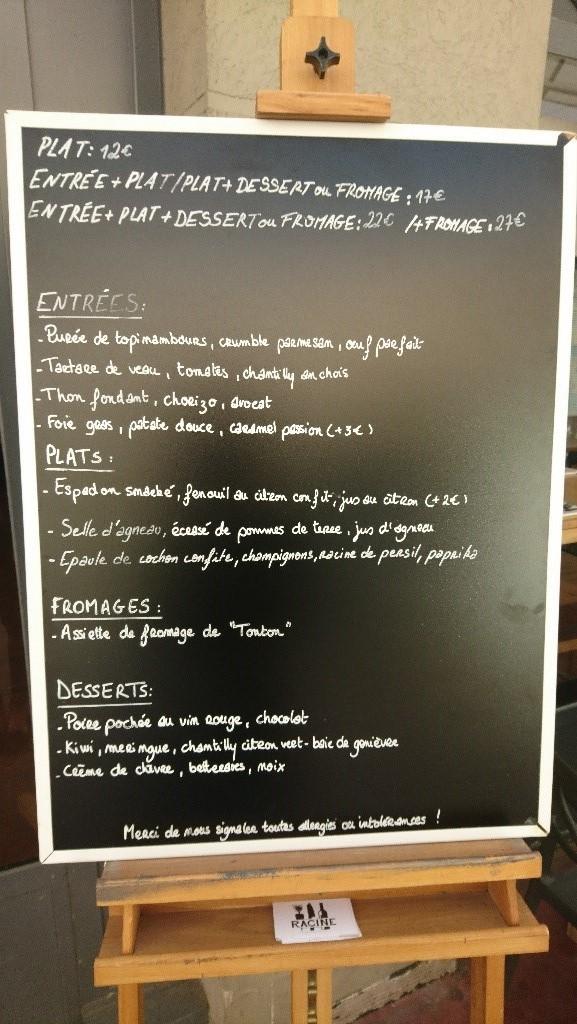 Racine restaurant Lyon
