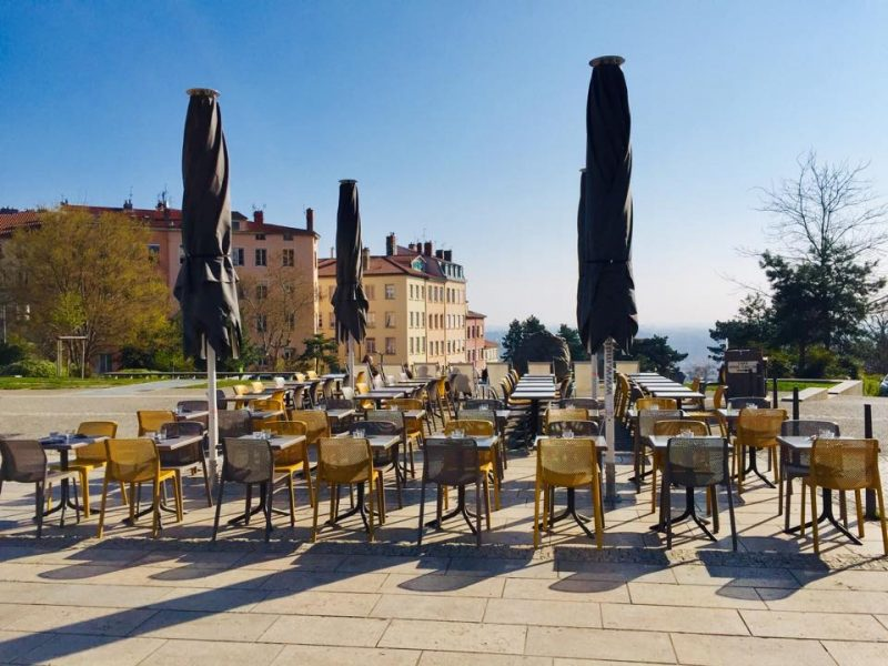 réouverture des terrasses à Lyon